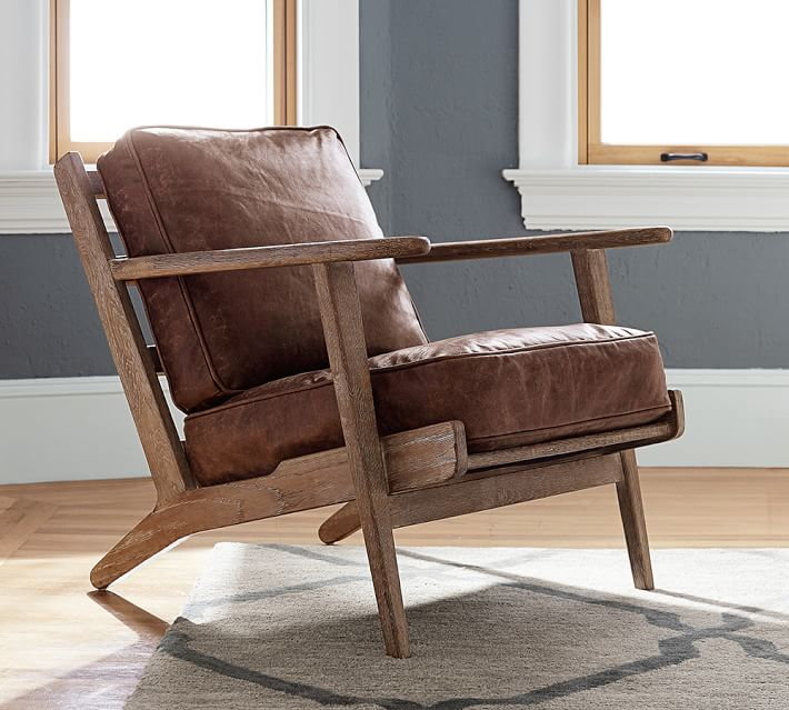 Exceptionnel Timeless Leather Armchairs Under $1,000