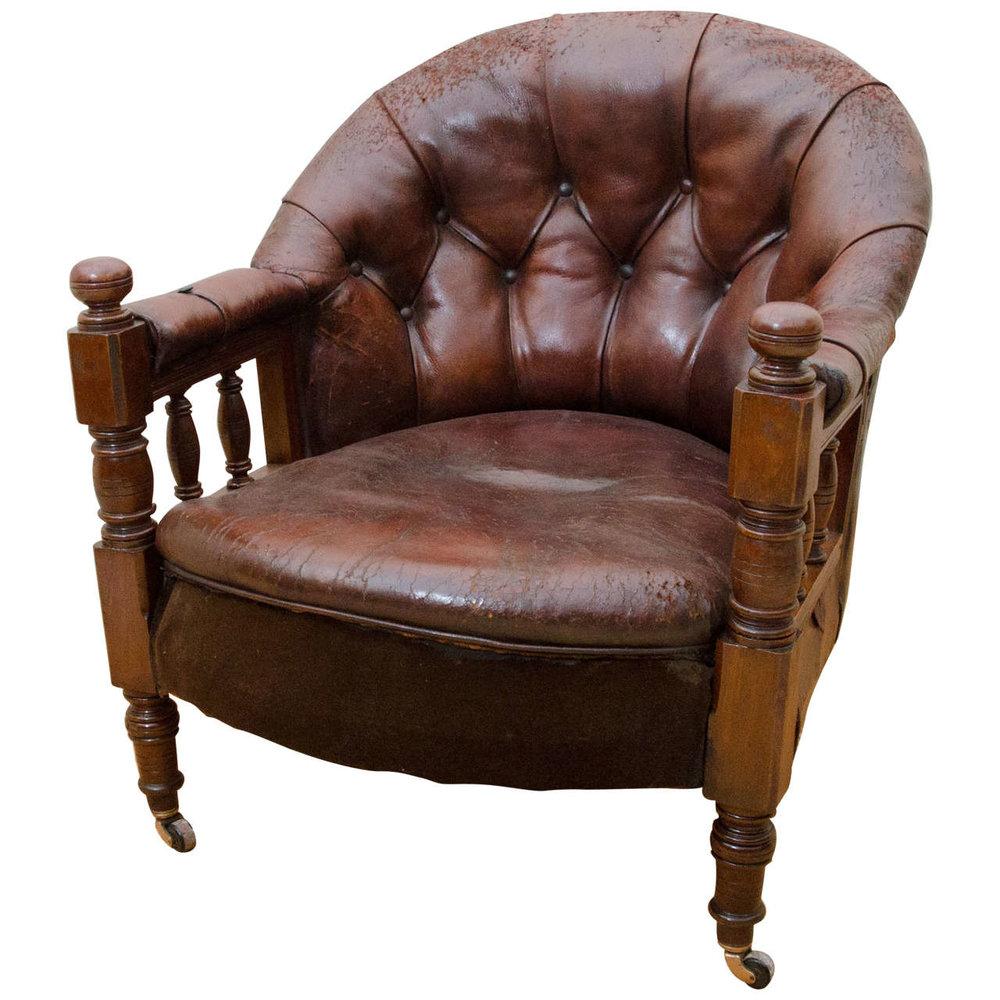 1st Dibs English Victorian Chair $800