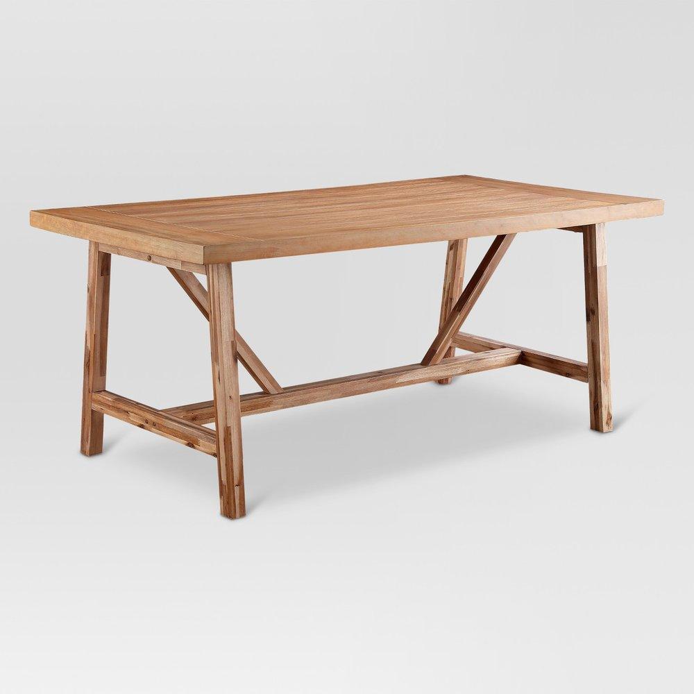 Target Wheaton Farmhouse Table $399