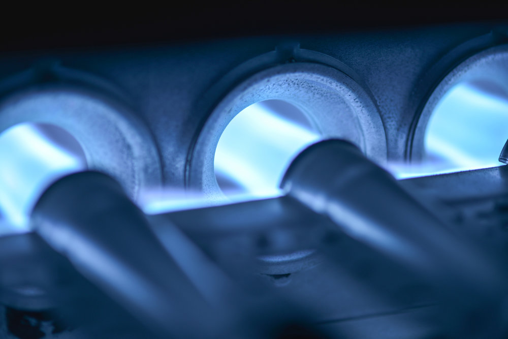 furnace clean and checks -