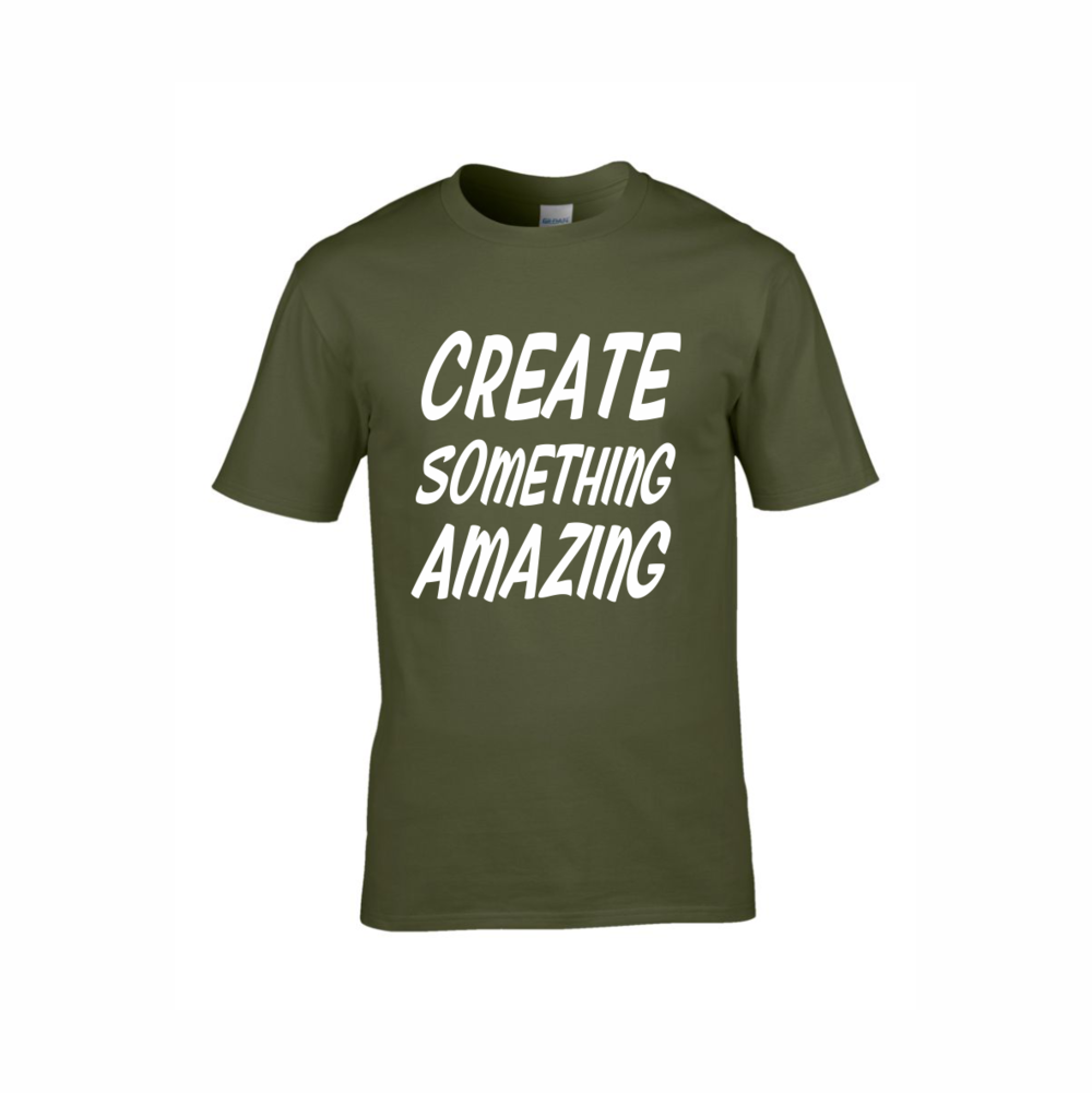 fd53e833 Military Green T-Shirts — Red-Penguin | Sign Shop, Print Shop ...