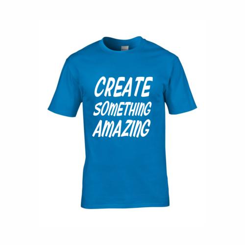 80e8755e Sapphire Blue T-Shirts — Red-Penguin | Sign Shop, Print Shop ...
