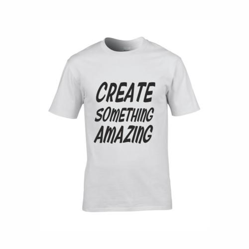 9028c7027 White T-Shirts — Red-Penguin | Sign Shop, Print Shop, Workwear ...