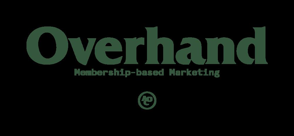 Overhand_Logo_Membership_Based_Marketing