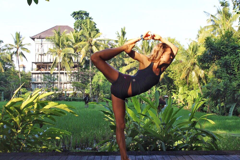 dasa halter yoga tank
