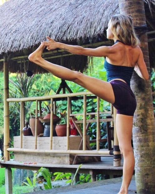 trini yoga shorts