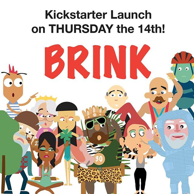 Get ready for THURSDAY!  Brink launches on Kickstarter.