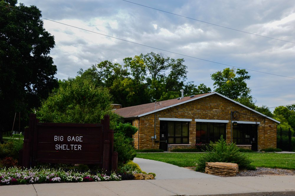 Big Gage Shelterhouse   Client: State of Kansas Architect: Peterson Architecture