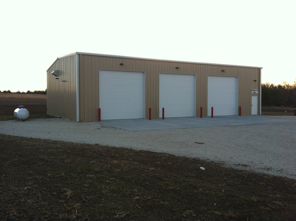 Soldier Township Fire Station   Client: Soldier Township Architect: Slemmons Associates