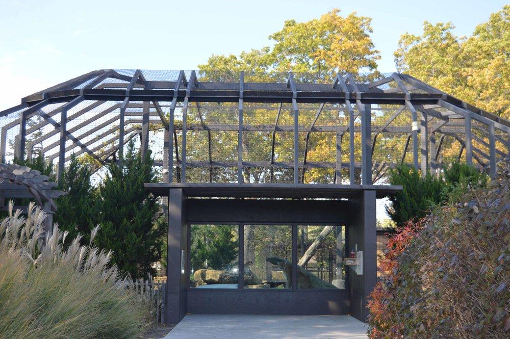 Topeka Zoo Kansas Carnivores Exhibit   Client: City of Topeka Architect: Schwerdt Design Group