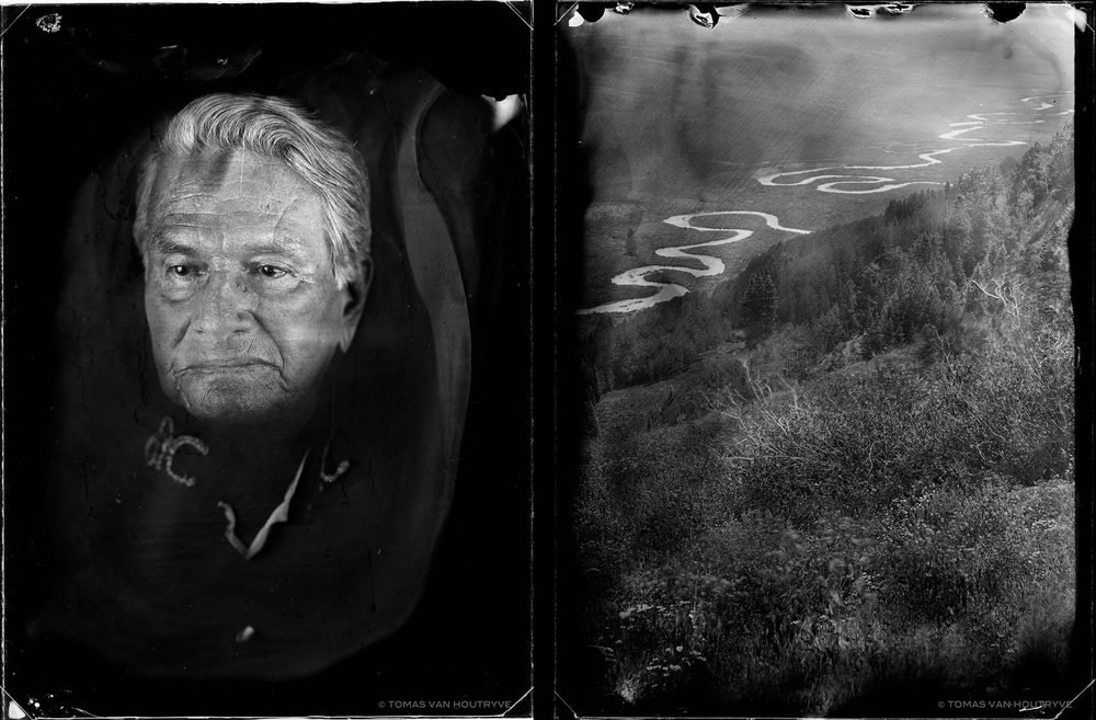 Patrick Garcia and East River, 2017, diptych gelatin silver prints, 60 x 40 cm
