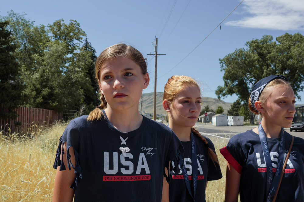 Utah Patriot Camp, a week-long day camp, takes place in Herriman, Utah, 29 June 2017. The camp teaches the constitution, American values, military history, lessons on God's Word, and others. The camp strives to create patriots, and is for elementary-aged children. The Herriman camp hosted 95 students for the week.