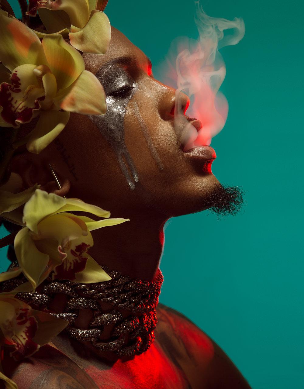 """August Alsina - """"Drugs"""" Album Cover"""