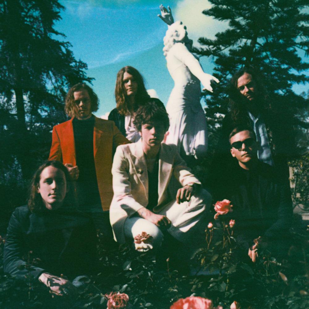"""Cage The Elephant - """"Unpeeled"""" Album Artwork"""
