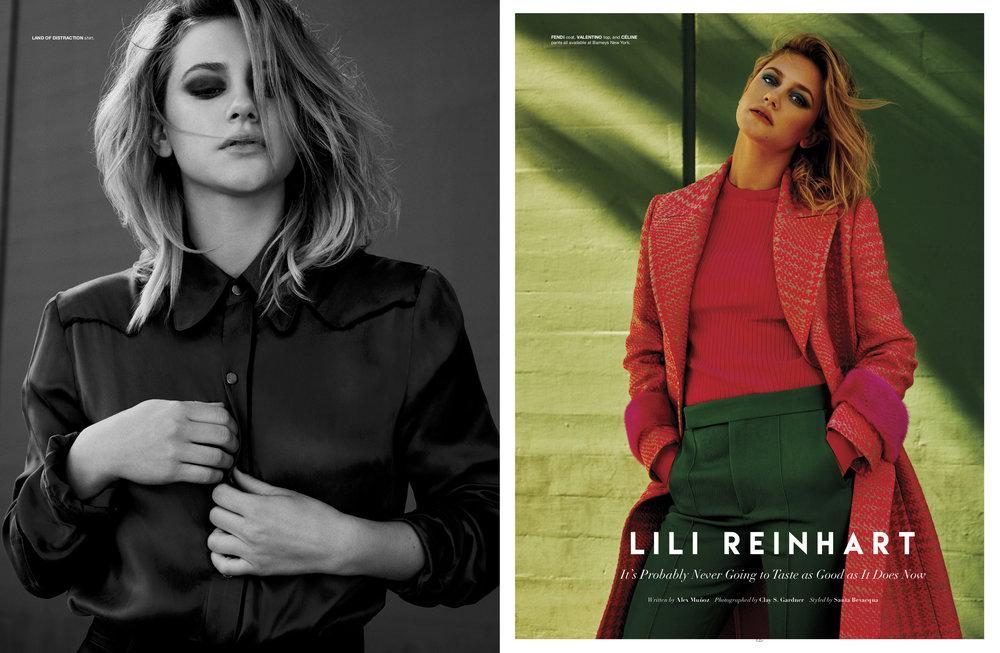 Lili Reinhart - Flaunt