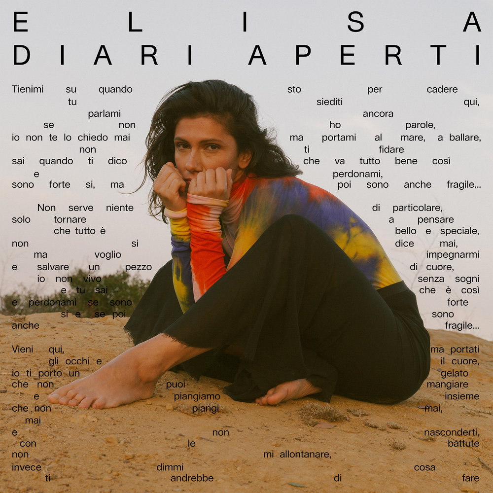 """Elisa """"Diari Aperti"""" Album Artwork"""