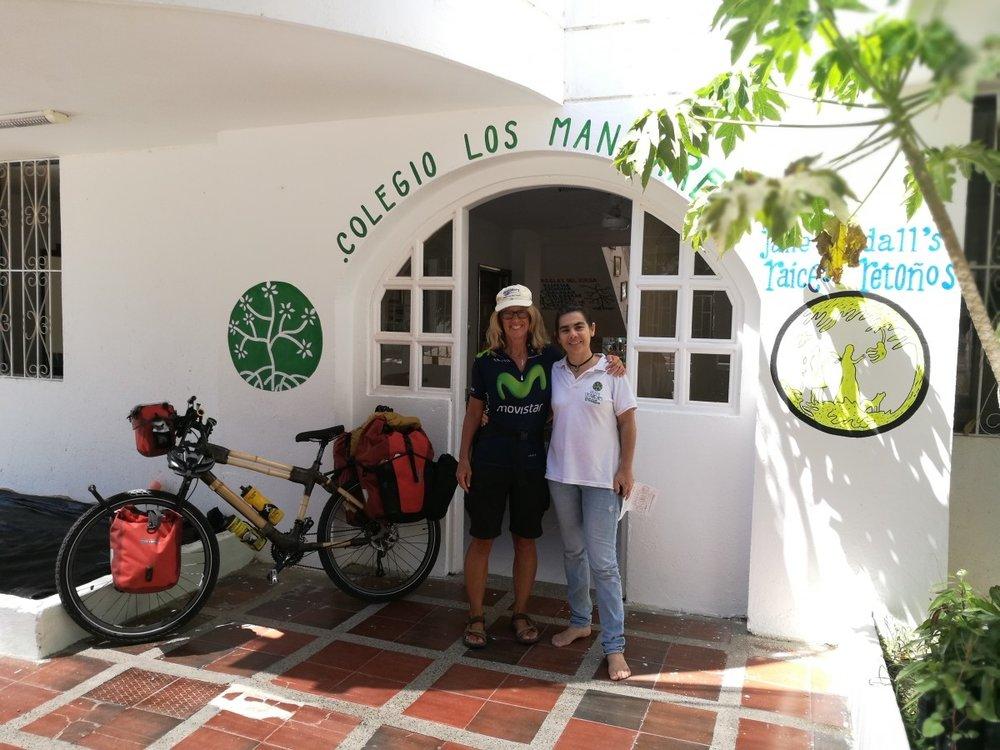 Kate Rawles bike adventure