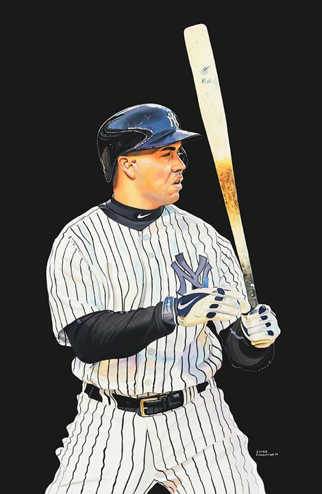 Carlos Beltran Foundation Piece