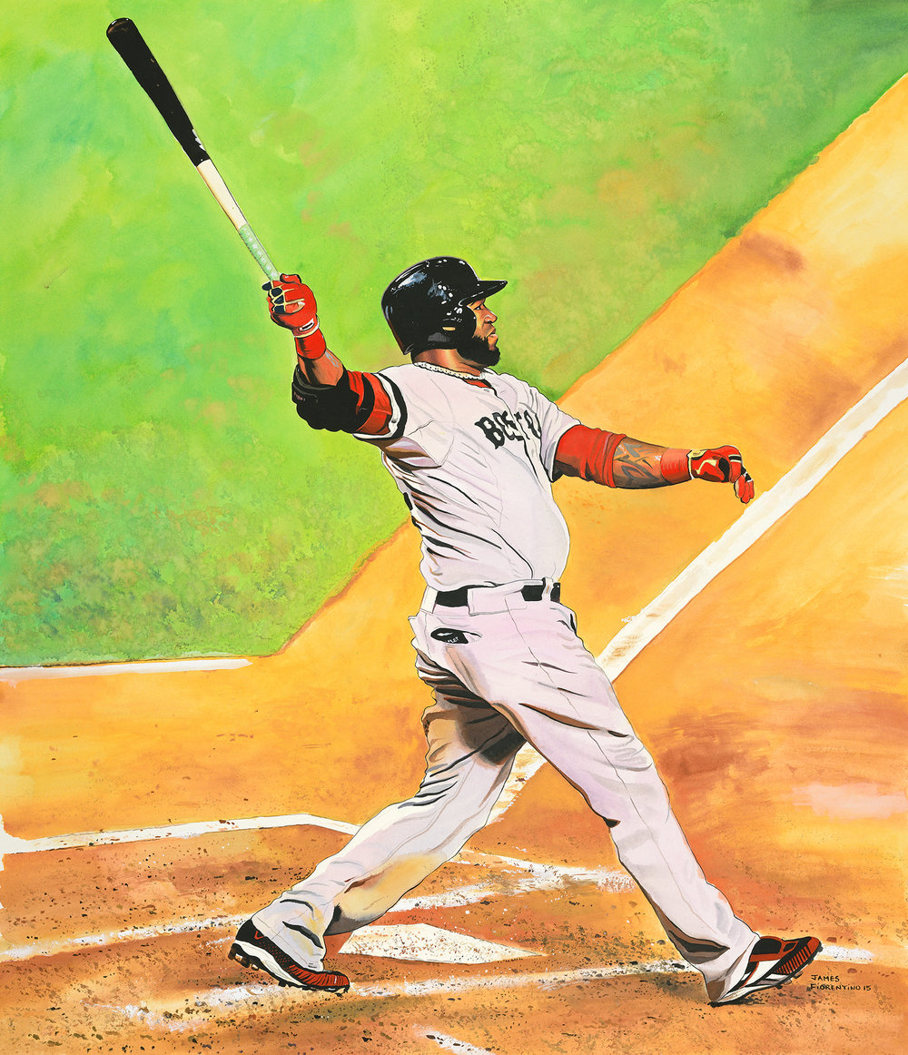 David Ortiz - Autographed by David Ortiz (16x10)Call 908-782-8509 For Pricing