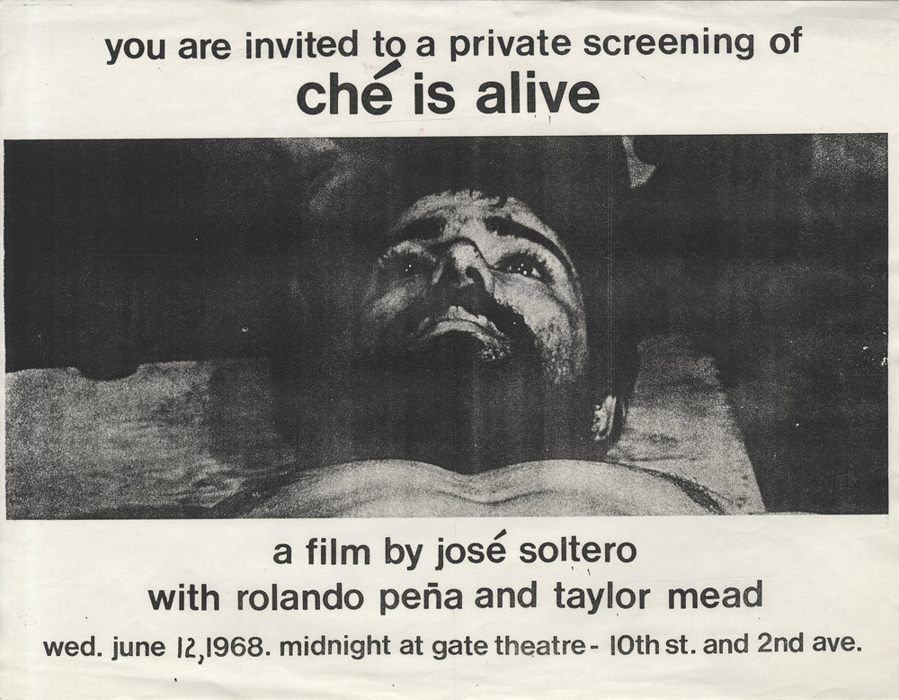 Jos. Rodriguez Soltero,  poster for Dialogue with Che  (1968)