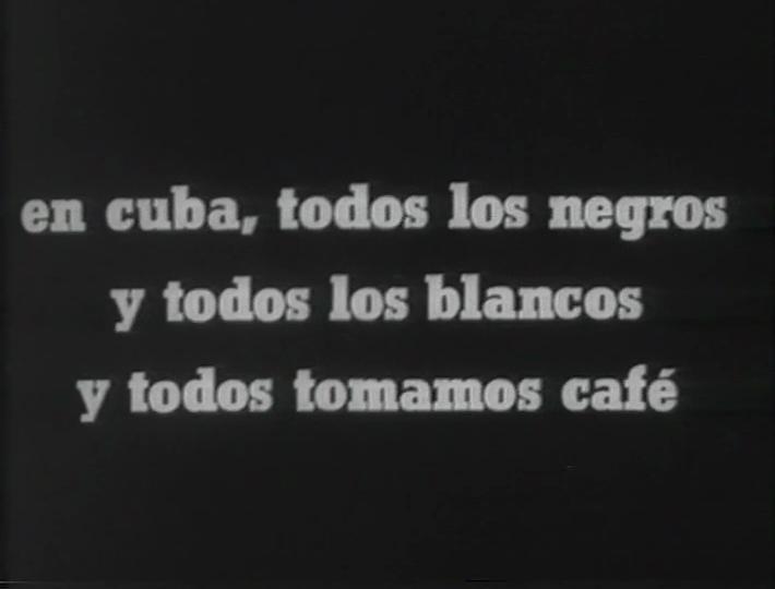 Nicolas Gullén Landrián,  Coffea Arábiga  (1966)