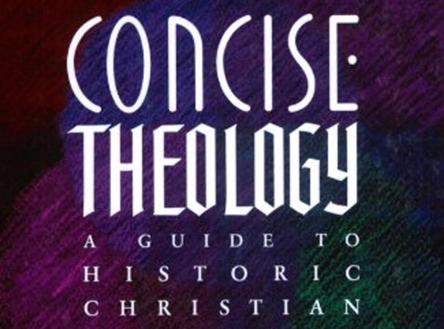 Concise Theology - J. I. Packer