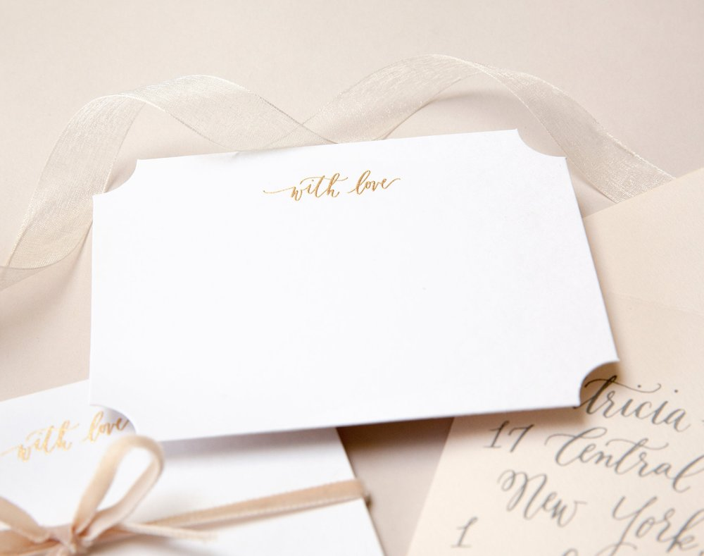 Sincerely Jackie Long Island Wedding Invitations
