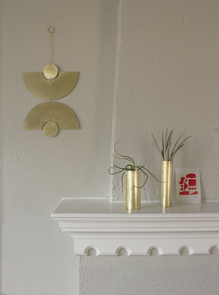 Circle And Line Shop Home Decor Brass Mobiles Metal Wall Hangings