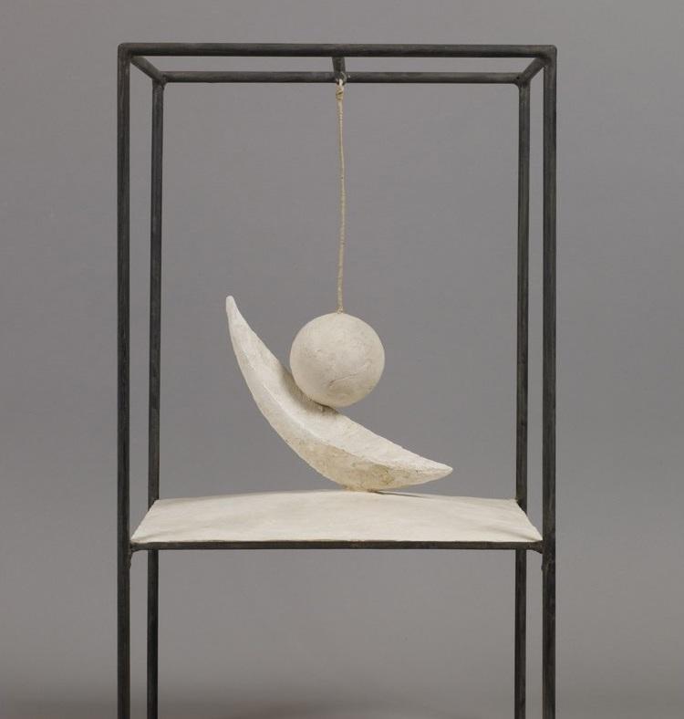 Alberto Giacometti - Boule suspendue, 1930-1931.