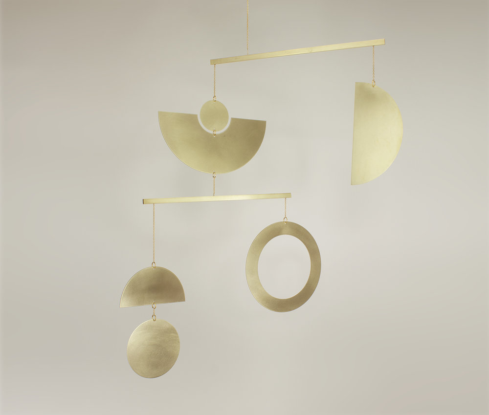 kinetic mobile contemporary wall ard
