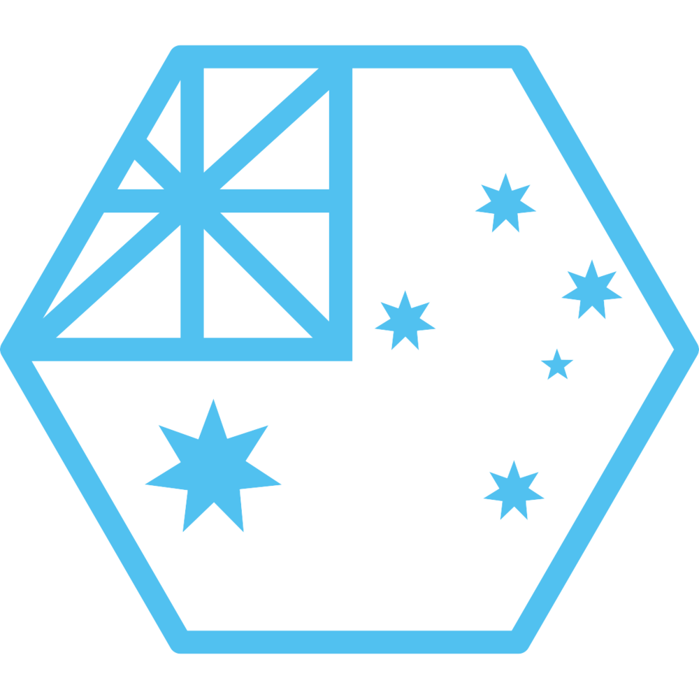 Australia hexagon flag noun_613005_51C1F0.png