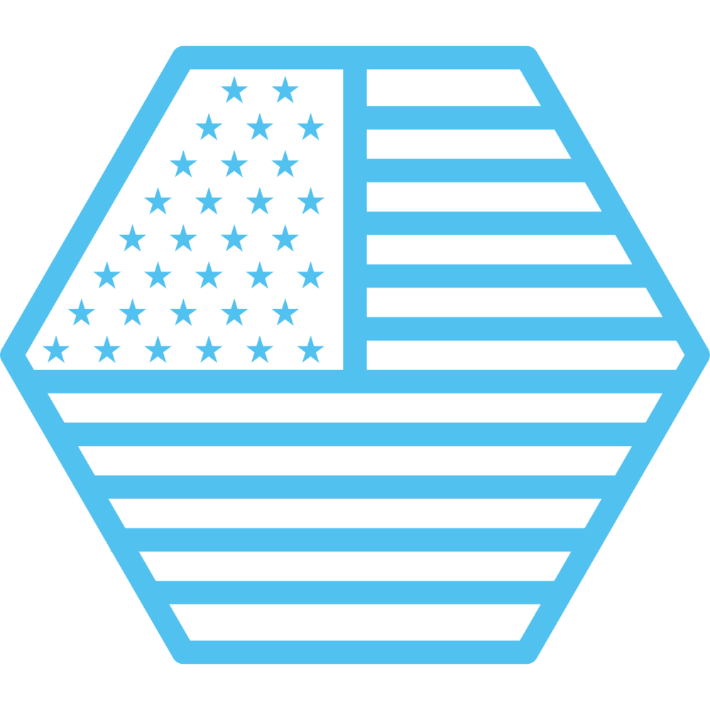 USA hexagon flag noun_613061_51C1F0.png
