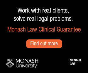 Monash Law Clinical Guarantee