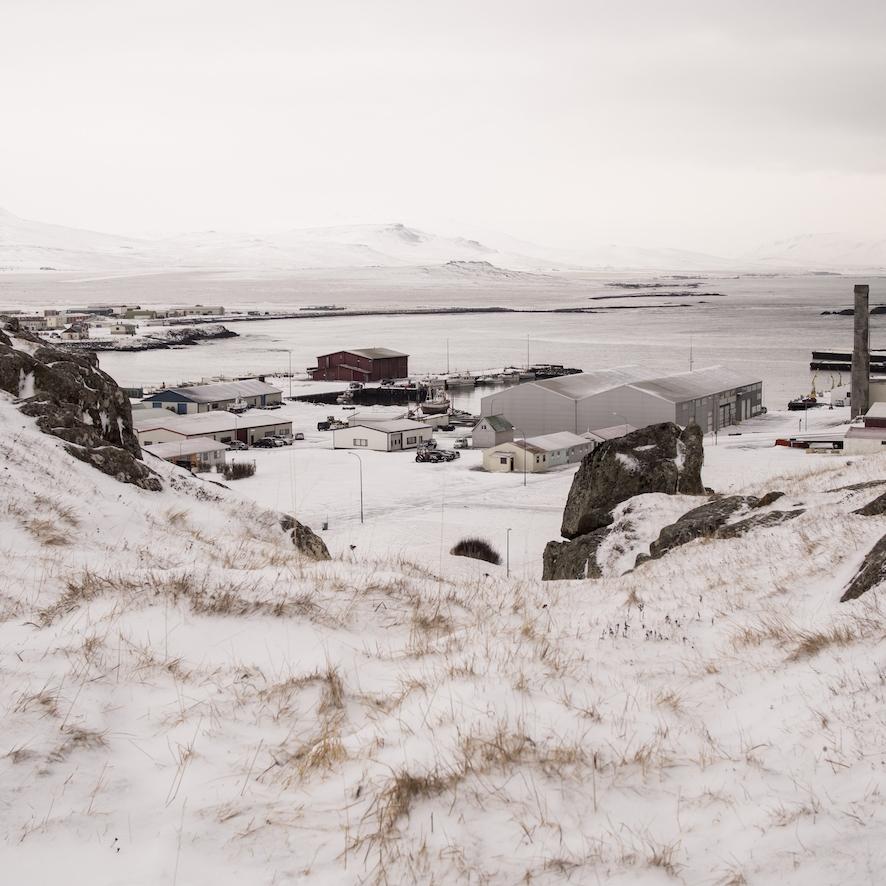 Skagaströnd town in winter.jpg