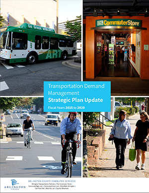 Arlington County, VA has adopted a multifaceted transportation demand management plan