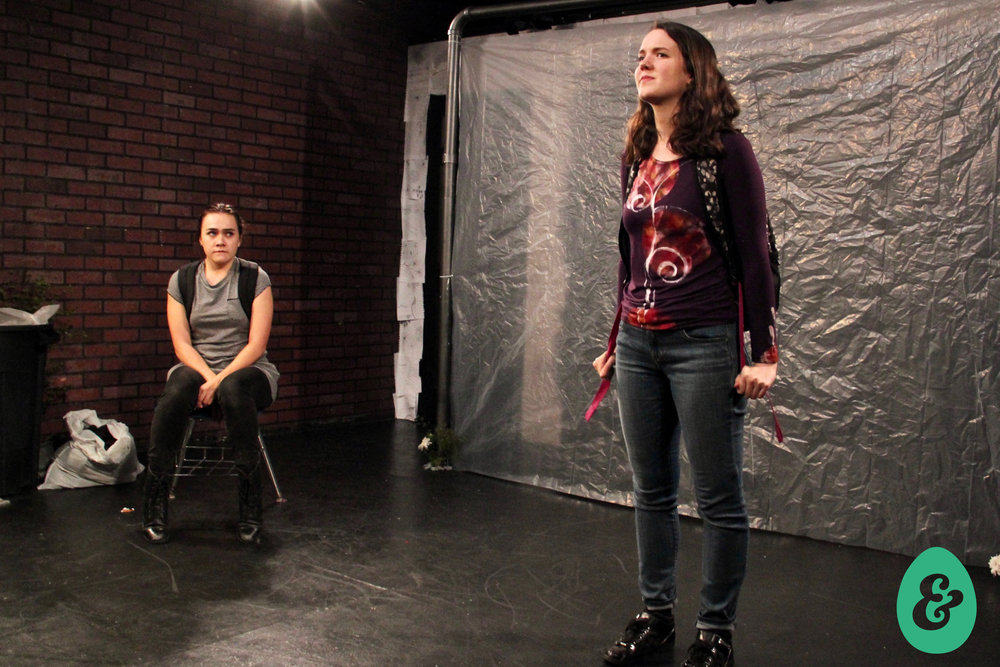 Bryn Dolan and Jesse O'Brien, set design by James Scarola, costumes by Jessica Crawford