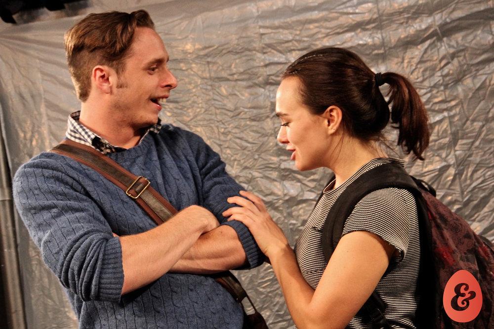 Julián Garnik and Bryn Dolan, costumes by Jessica Crawford