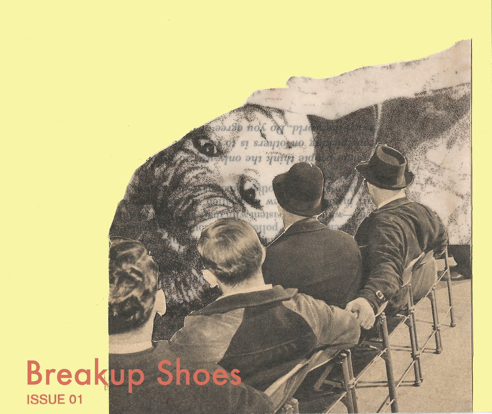 Breakup Shoes Single - Collage and digital album art made for a local Phoenix band, Breakup Shoes. Created to represent the longing of a loved one, who may or may not have similar intentions.