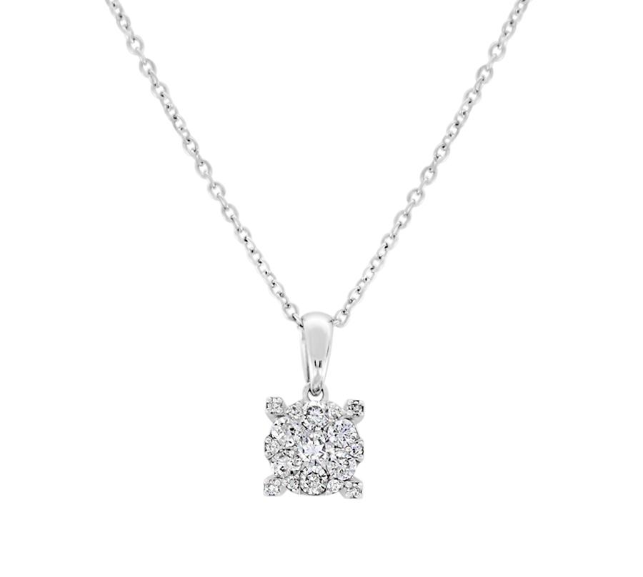 Diamond snowflake pendant - $450