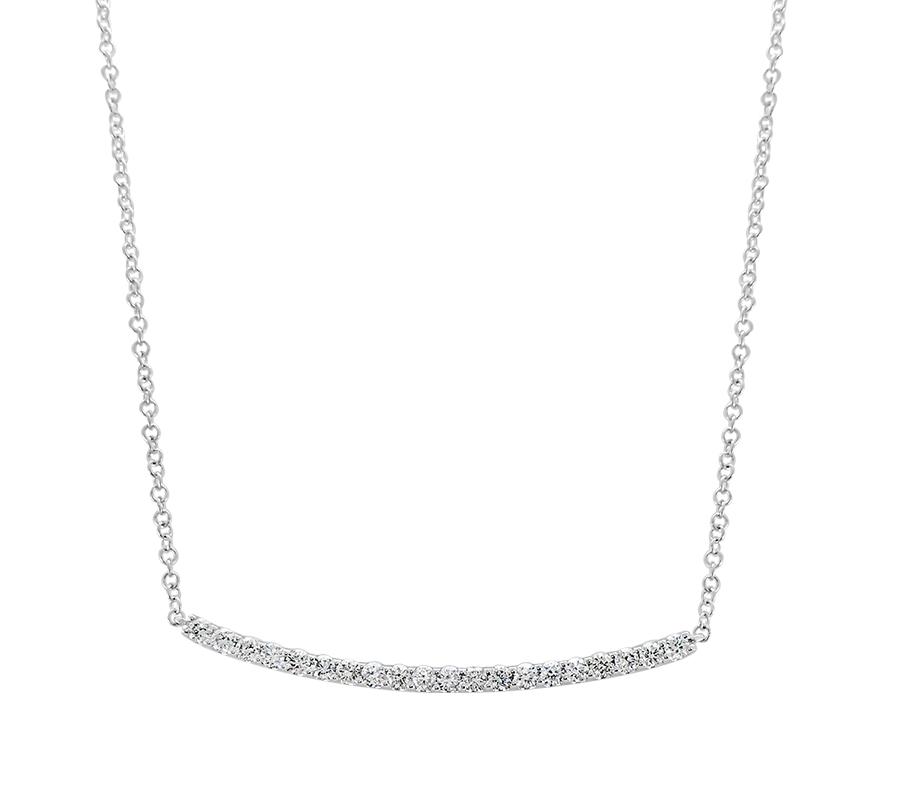 Diamond bar necklace - $899