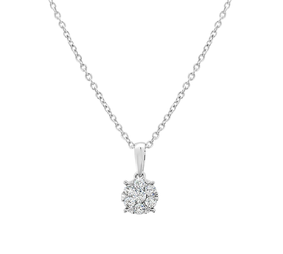 Diamond tulip pendant - $249