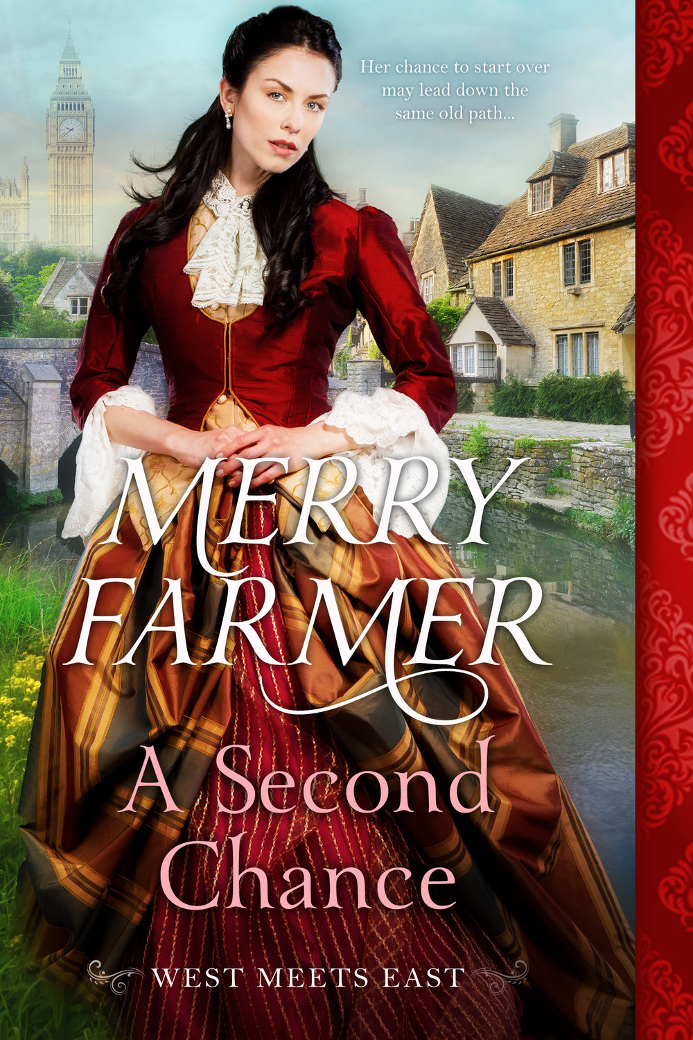 A Second Chance (Book 3) - Noelle Walters can hardly believe how lucky she is to be given a chance to start over after a hard life as a soiled dove in the American West. But almost from the moment she steps off the ship in London, England, everything goes wrong. The Lord of the manor where she was supposed to take up a position as a maid has disappeared under scandalous circumstances, and Noelle's services are no longer required. Alone in a foreign country, penniless, and ignorant of the ways of British society, Noelle fears that her only chance of survival will be taking up her old profession again.Ram Singh hasn't been able to forget the beautiful American woman he escorted from his employer's ship to her new job. When he discovers that Noelle has met with nothing but misfortune, he feels compelled to help her in every way he can. Including sneaking her into his lodgings to save her from the street. But helping Noelle puts Ram's plans for the future in jeopardy when they are discovered together. They must face the choice to survive any way they can on their own or hope for a second chance to fall in love.PLEASE BE ADVISED – Steam Level: Hot
