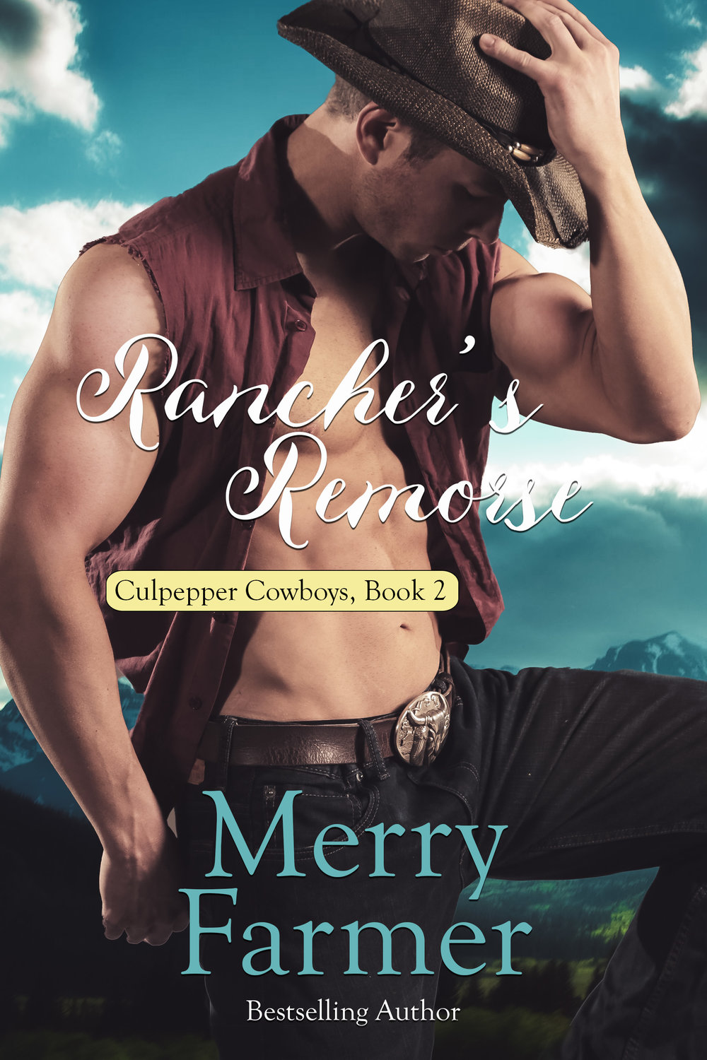 Rancher's Remorse (Book 2) - Faith Quinlan agreed to marry Cooper Culpepper as part of the deal she and her sisters signed to help the Culpepper boys fulfill the terms of their Granddaddy's will so they could keep the family ranch. But what Cooper doesn't know might hurt him. Faith is more than willing to help Cooper out—as he discovers, to his delight, on their wedding night—the trouble is, she thinks she's not able.But Faith has more than one secret. Her quaint doll-making hobby is more than just a little fun, her dolls have become a nationwide phenomenon. When a reporter shows up to do a story about Faith, Cooper gets all the wrong ideas…and those wrong ideas could spell disaster for their brand-new marriage. Can Faith face her fears and tell Cooper the truth…before Cooper carts her off to the loony bin or jail?PLEASE BE ADVISED: Steam Level = HOT