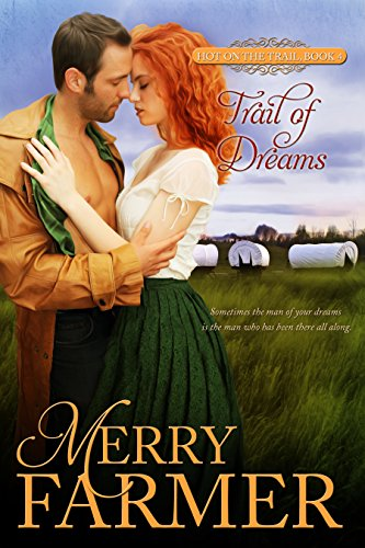 Trail of Dreams (Book 4) - Katie Boyle has known Aiden Murphy her whole life. Everyone expects them to marry someday, but as much as she cares for her lifelong friend, Katie wants more from life. She craves adventure and excitement, and doesn't want to give in to the obvious choice. Heading west along the Oregon Trail is, in her mind, the beginning of the new life she has always wanted, and she intends to embrace it. But when she is abducted by a Cheyenne brave and taken to his village, she is in for more adventure than she bargained for.Aiden has loved Katie for as long as he has known her, and is determined to win her, regardless of her protests. He has watched over her as she spread her wings without her ever knowing it. But his devotion is put to the test when Katie is taken. He risks everything to follow her and rescue her, only to end up as the center of attention in the Cheyenne village. His skill with music makes him an honored guest amongst the Indians, but can he save Katie before her fate is sealed forever?Sometimes the man of your dreams is the man who has been there all along….PLEASE BE ADVISED: Steam level – Hot
