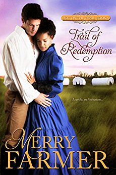Trail of Redemption (Book 6) - Estelle Ripley is not who she says she is. Running from the past she's left behind on a Georgia plantation, she's taken a job in a wagon train heading to new horizons along the Oregon Trail. If she can just keep her head down, do her job, and keep any of her new friends from discovering her secret, she'll be fine. After all, people don't ask questions on the frontier.But Estelle didn't count on a shadowy figure from her past coming along on the journey, and she most certainly did not plan to fall head-over-heels in love.Graham Tremaine's only reason for heading west is to deliver his sister Lynne's belongings to her new home in Denver. The Civil War has left him with more scars than his missing leg. Convinced he is now only half a man, wounded and with no future, he fights hard not to fall in love with the dark and mysterious Estelle. It's a losing battle, and as his passion for Estelle flares, so does his desire to protect her. But how can he fight her battles when she keeps so many secrets from him? And what kind of a life can a man who has lost himself provide?Love is a journey that proves the heart has no limitations…Please Be Advised - Steam Level: HOT