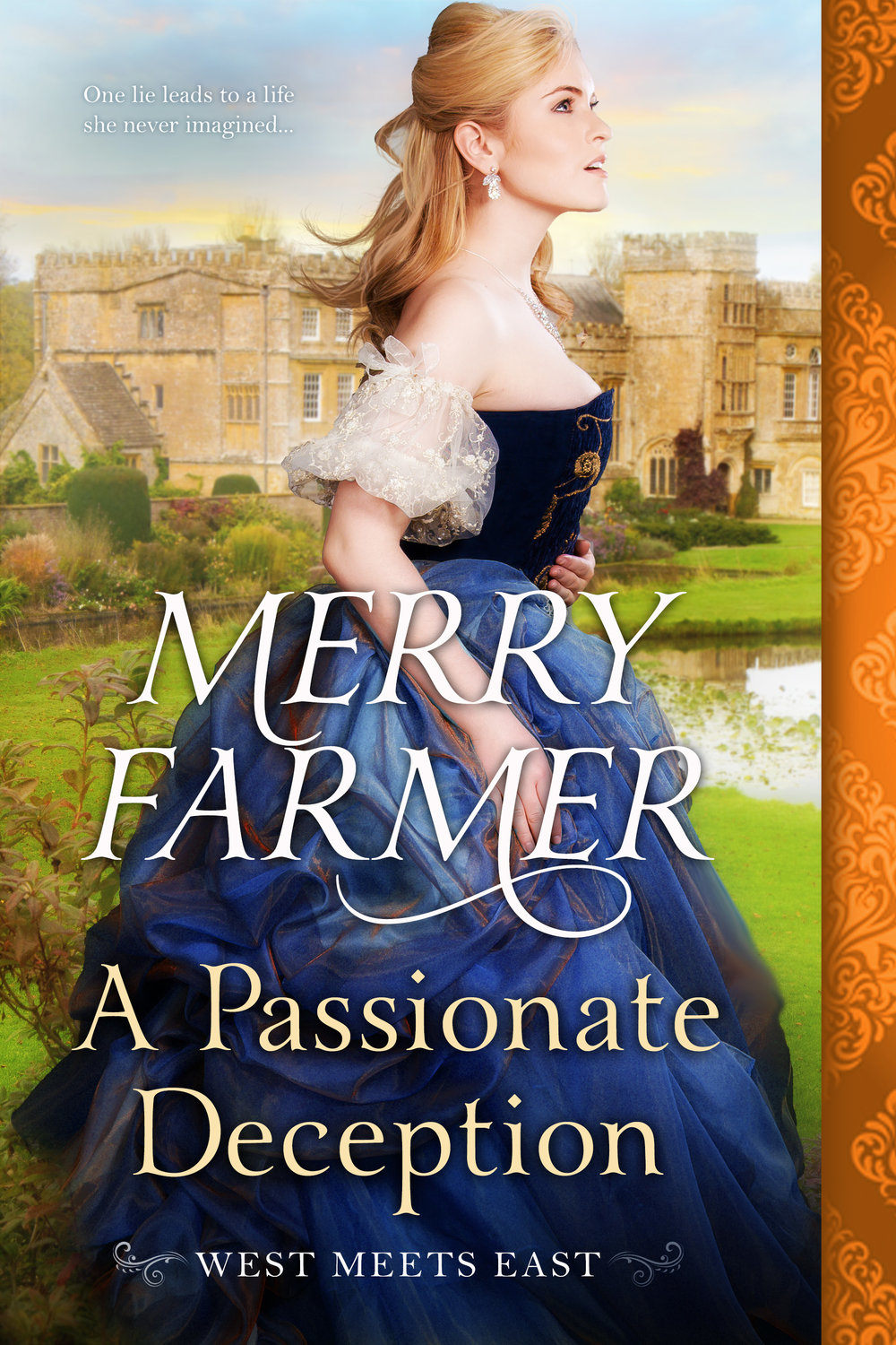 A Passionate Deception (Book 5) - Ellie Braun is on her way from the Old West to England to start a new life as lady's maid to American heiress Helena Mortimer. But when Helena runs off with one of the porters from the ship as soon as they dock in London, it's up to Ellie to smooth things over with Lord Henry Howsden, Helena's fiancé. But instead of being disappointed, Lord Henry concocts a plan for Ellie to impersonate Helena in order to fool his family. A former soiled dove pretending to be a wealthy heiress in the household of a marquis? What could go wrong?Henry Howsden has resented his father's attempts to sell him in marriage to a woman he's never seen from day one. By introducing Ellie to his family as Miss Mortimer, letting them fall in love with her, then revealing her true identity, he intends to prove to them that common people have worth, and that marriage is not a game. But almost from the start, he falls in love with the beautiful, clever, and free-spirited Ellie. She is everything that he has never been permitted to be, and all too soon he can't imagine a life without her. But the gulf between an ex-prostitute and a British nobleman is an enormous one, and the passion that develops between Ellie and Henry may prove to be as impossible as it is undeniable.PLEASE BE ADVISED: Steam level – HOT