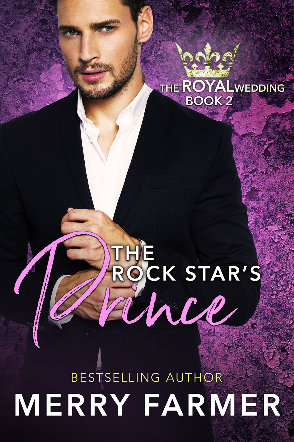 The Rock Star's Prince - by Merry Farmer (Book Two) - Prince Arne of Aegiria has always taken his responsibilities as Minister of Culture for his kingdom seriously and sought to raise the bar where artistic events are concerned. So when he is tasked with coordinating a concert on behalf of his mother, the queen—and told, not asked, that American pop singer, Fuchsia, will be the headliner—he is less than thrilled. Fuchsia represents the kind of over-the-top, tacky showmanship that he hates. The only bright spot in the coming fiasco is demure, intelligent Emma Sands, part of Fuchsia's entourage.But not everything is as it seems.Emma never set out to deceive Arne, but without her Fuchsia make-up and costumes, just about everyone mistakes her for a quiet groupie. And when Fuchsia finds herself falling into one embarrassing situation after another, incidents so bad they threaten relations between Aegiria and America, the last thing she wants to do is admit who she really is.There's more to the mishaps that keep befalling Emma and her band, though, and with a little digging, she and Arne discover someone is trying to stop the monumental announcement planned for the end of the concert. Can they uncover the culprit before it's too late? And will Emma's big revelation bring her and Arne closer together or tear them apart?PLEASE BE ADVISED: Steam Level - Hot....3.5 out of 5 with an