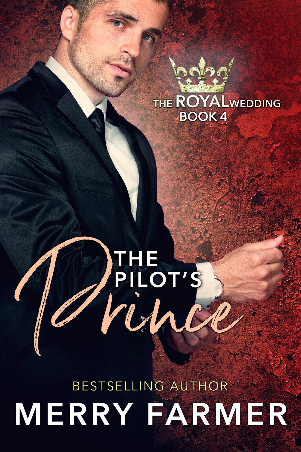 "The Pilot's Prince - by Merry Farmer (Book Four) - Prince Mikael ""Mack"" Magnusson has always been the black sheep of the Aegirian royal family. Instead of indulging in the perks of his royal status, he wanted to become a humble fisherman and to protect the environment. But his dreams were cut short when it was determined they weren't lofty enough, and ever since, he's been adrift, looking for a place to belong.Gloria Swann belonged in the RAF as a combat support pilot, but when her ambition to become a fast-jet fighter pilot was denied, she too was left out in the cold, wondering where she fit in. All she's ever wanted was to stand up for a cause she believes in and to fight for what is right.When Gloria literally crashes into Mack's life, just as the preparations for the royal wedding reach their climax, not only does Mack find himself with a powerful ally as another attempt to stop the wedding is made, he finds himself falling in love. The connection Gloria and Mack feel proves that soulmates do exist, and that love can conquer all.And we might just get to see who's been trying to stop the royal wedding too…maybe….PLEASE BE ADVISED: Steam Level - Hot"