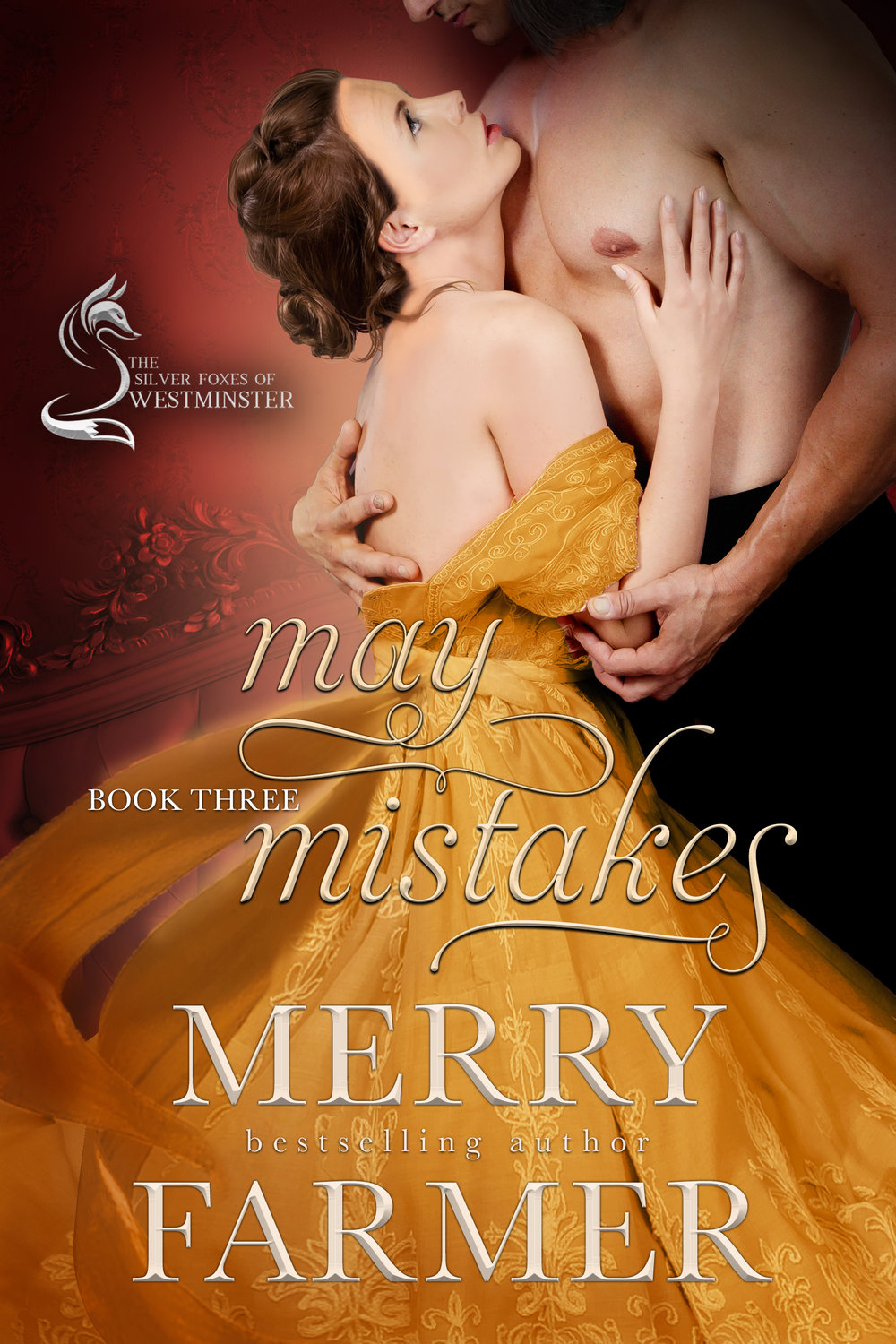 May Mistakes (Book Three) - After the death of her father, Miss Elaine Bond had decided to embrace life as an independent woman…much to the chagrin of her neighbors. Her eccentric ways alarm the entire town of Brynthwaite, to the point where concerned friends turn to the only person they believe can settle Elaine into a respectable married life, mysterious bookseller Mr. Basil Wall.Basil has been in love with Elaine since the moment he moved to Brynthwaite years ago, but the secret that drove him out of London and into the remote Lake District has kept him from declaring himself. At least until a twist of fate throws the two potential lovers together in a way that neither of them expected.But what begins as a romance that is as charming as it is sultry turns into a game with far higher stakes when the infamous Missing Earl of Waltham is tracked down and dragged out into the light. And with the fate of Parliament—not to mention a bill increasing the rights of women—in the balance, Basil must choose between love and duty. Which leaves Elaine caught between what is right and what is proper, and leads her to an adventure far more daring than any of her Brynthwaite neighbors could dream of.PLEASE BE ADVISED: Steam Level – Very Hot!If you would like to read about events leading up to May Mistakes, check out A WILD ADVENTURE, part of the West Meets East series, available now.