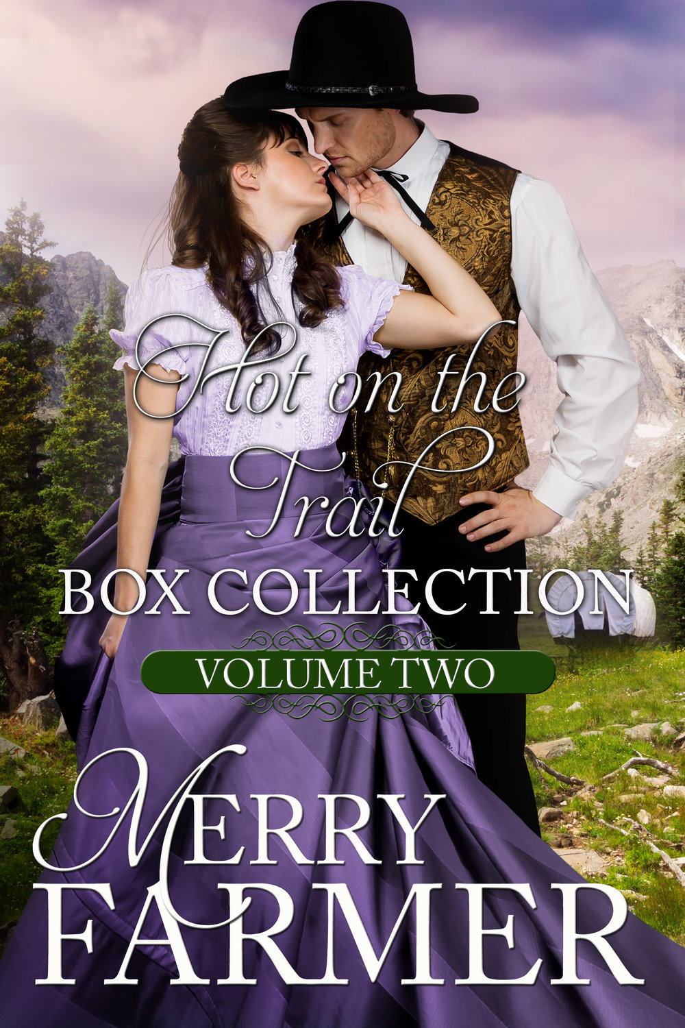Hot on the Trail: Box Collection (Volume 2) - Books 4 – 6 of the popular Hot on the Trail series are together here for the first time! Gather up your mail-order brides and cowboys and come out to the old west to fall in love on the Oregon Trail… Each book is a stand-alone that can be read without having read the others.Box Collection includes:Trail of DreamsTrail of DestinyTrail of RedemptionPLEASE BE ADVISED: Steam Level – Very Hot
